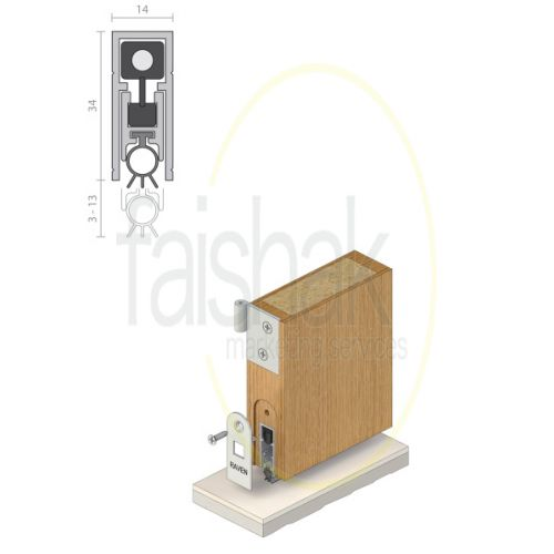 Raven, Automatic Door Bottom Seal, RP8Si